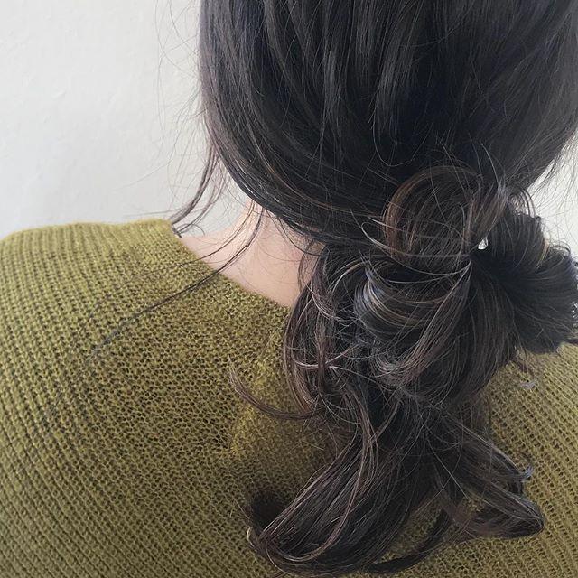 担当シオリ @shiori_tomii ムラムラハイライトでラフにアレンジがかわいすぎます♡明日の予約まだ空いてますので、ぜひご都合合う方はお待ちしております♡#abond #shiori_hair #ハイライト#高崎美容室