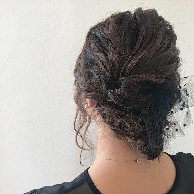 担当シオリ @shiori_tomii 結婚式ヘアセット#abond #shiori_hair #hairarrange #ヘアアレンジ#ヘアセット#高崎美容室