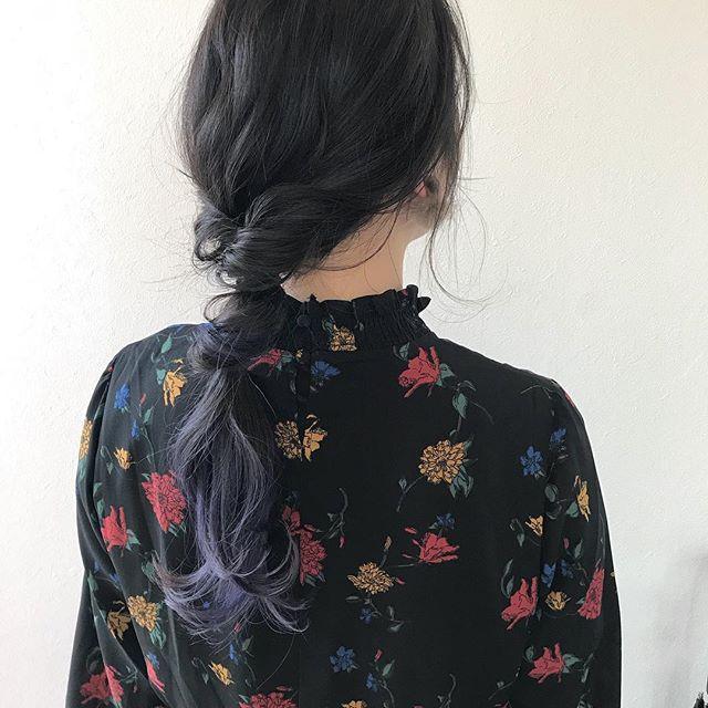 担当シオリ @shiori_tomii ゆるっとアレンジしてもかわいいです#abond #shiori_hair #hairarrange #ヘアアレンジ#ヘアセット#高崎美容室