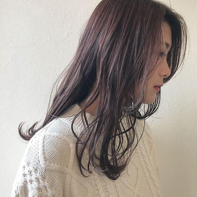 担当シオリ @shiori_tomii 春らしくpinkが今の気分ですアッシュピンクおすすめです🦄#abond#shiori_hair #アッシュピンク#高崎美容室