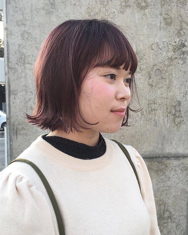stylist:塚越ラベンダーアッシュ︎ #abond#高崎#ボブ#カラー