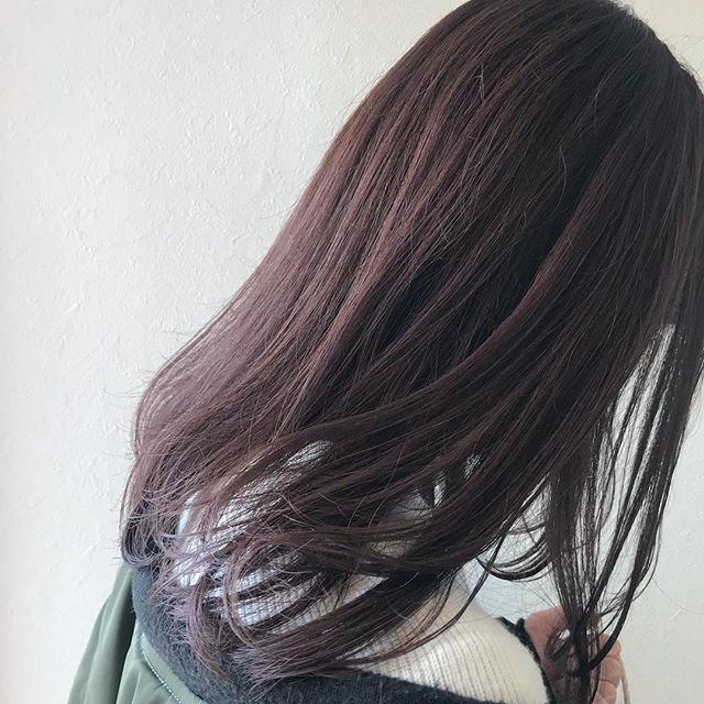 担当シオリ @shiori_tomii この時期ピンクアッシュとっても人気です#abond #shiori_hair #ピンクアッシュ#高崎美容室