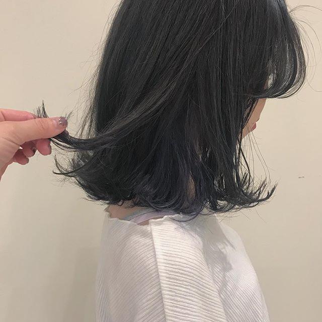hair ... TOMMY ︎gray × lavender 暗さの中の透明感♡@abond_tommy #tommy_hair#heartyabond# abond#アボンド#高崎#高崎美容室