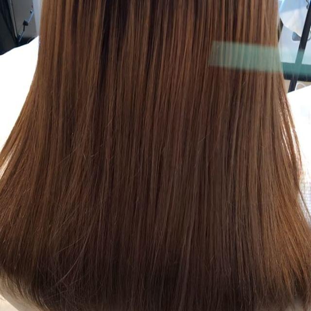 ロイヤルトリートメントで褒められるツヤ髪乾燥する冬の時期にはオススメなトリートメントです#高崎 #高崎美容室 #abond #ロイヤルトリートメント #hearty