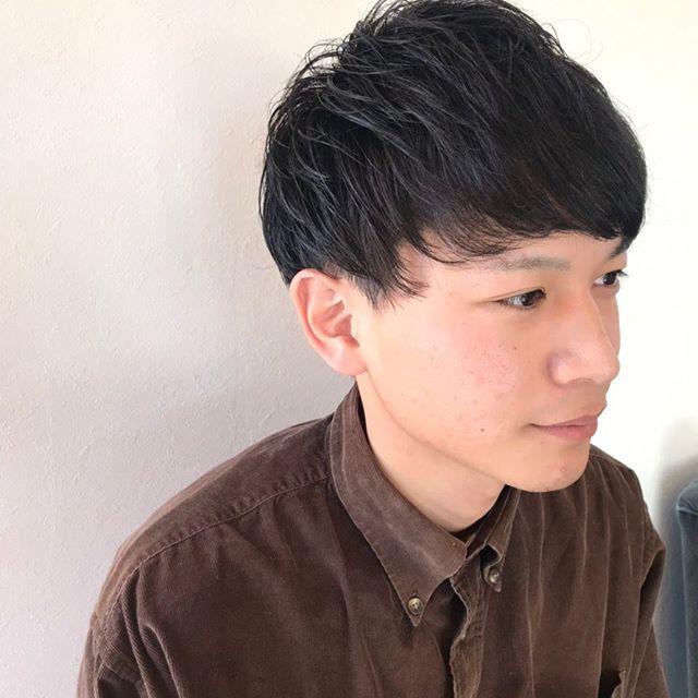 ナチュラルなマッシュショート︎メンズショートはお任せください︎ @sugita.ryosuke #高崎美容室 #高崎 #メンズショート #マッシュショート