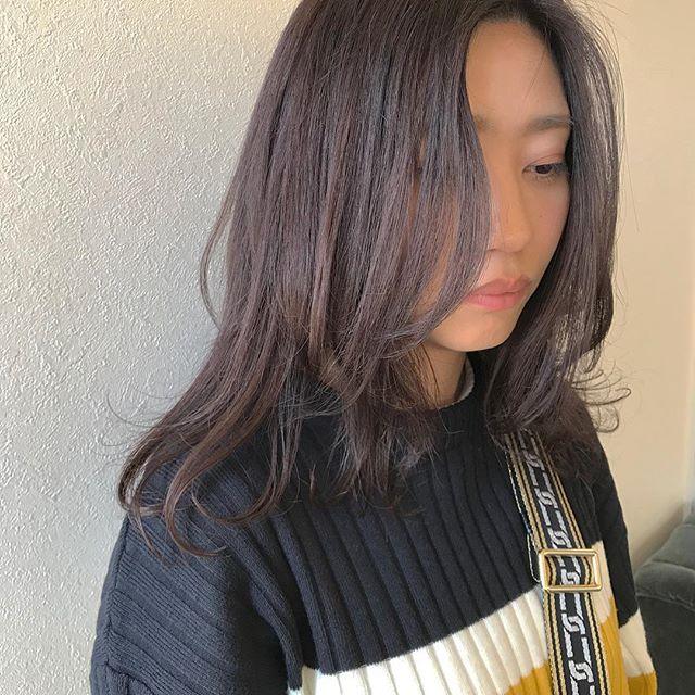 hair ... TOMMY ︎vioret  @abond_tommy #tommy_hair#heartyabond#abond#アボンド#高崎#高崎美容室