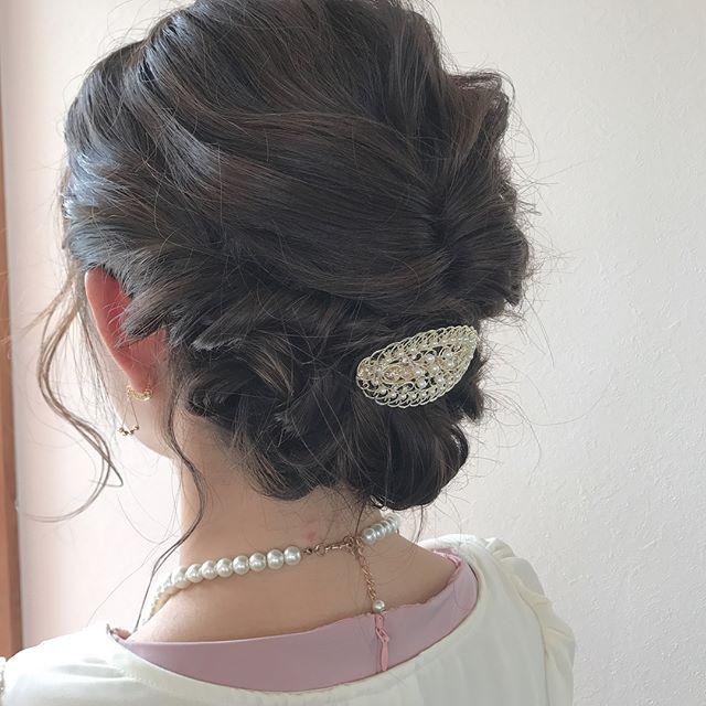 abondでは早朝setも承っております♡お時間はご相談ください♡担当シオリ@shiori_tomii #abond#shiori_hair #hairarrange #ヘアアレンジ#高崎