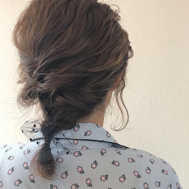 担当シオリ @shiori_tomii 結婚式のヘアアレンジ♡#abond #shiori_hair #hairarrange #ヘアアレンジ