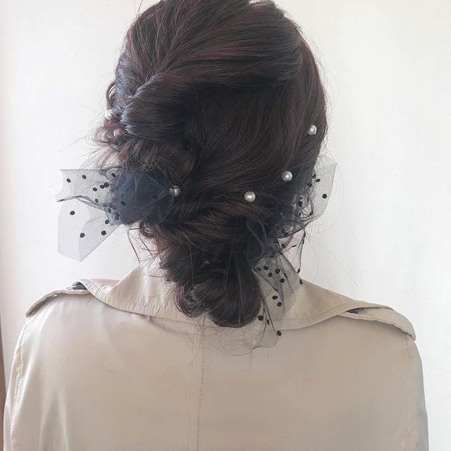 担当シオリ @shiori_tomii ヘアセットおまかせください♡その人に合わせてかわいくします♡#abond #shiori_hair #ヘアセット#ヘアアレンジ#高崎美容室