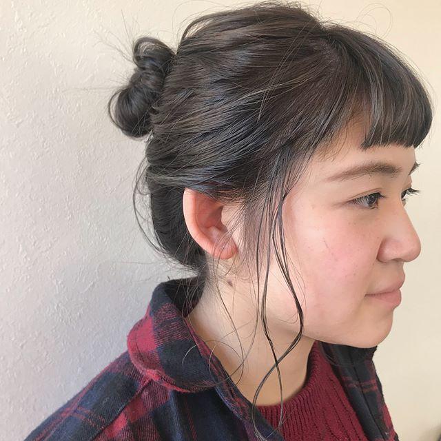 担当シオリ @shiori_tomii 本日もありがとうございました♡明日と明後日はabondお休みになります!木曜日以降のご予約はぜひネット予約からお待ちしております♡#abond #shiori_hair #ヘアアレンジ#hairarrange