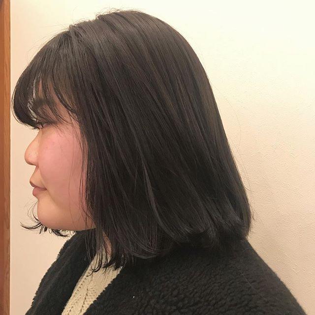 担当シオリ @shiori_tomii トーンダウンで柔らかいグレージュに#abond #shiori_hair #グレージュ#高崎美容室