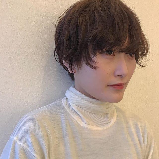 担当シオリ @shiori_tomii パーマを生かしたマッシュショート️️#abond #shiori_hair #マッシュショート#高崎美容室#高崎
