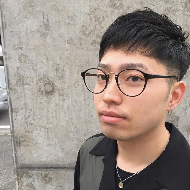 stylist:塚越メンズの短めバング︎グリースつけるだけの簡単スタイリング︎#abond#高崎#メンズ#ショートヘア