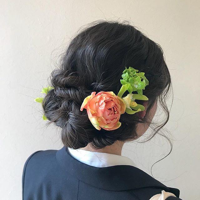 担当シオリ @shiori_tomii 卒業式ヘアセット4/1からはHEARTY @hearty__s に移動しますのでご予約はそちらからお願いします♡#abond#shiori_hair #卒業式ヘア#成人式ヘア #ヘアセット#高崎美容室
