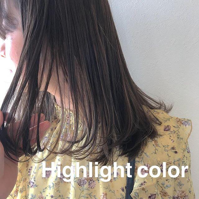 担当シオリ @shiori_tomii ムラムラHighlight color🕊4/1からはHEARTY @hearty__s に移動しますのでご予約はそちらからお願いします♡#abond#shiori_hair #ハイライト#高崎美容室