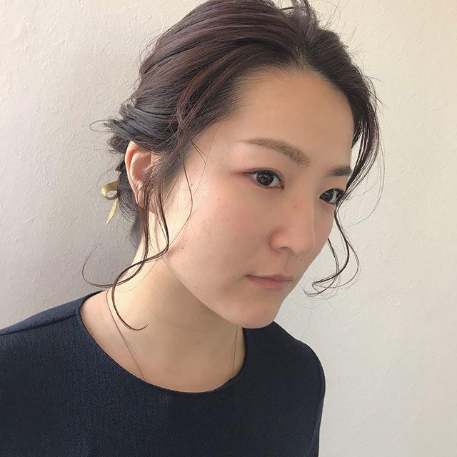 担当シオリ @shiori_tomii ヘアセット4/1からはHEARTY @hearty__s に移動しますのでご予約はそちらからお願いします♡#abond#shiori_hair #ヘアセット#ヘアアレンジ#高崎美容室
