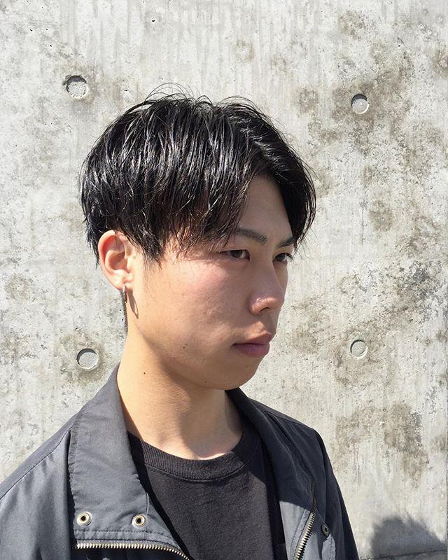 stylist:塚越メンズセンターパート︎ #abond#メンズ#高崎#センターパート