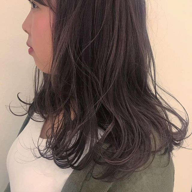 hair ... TOMMY ︎lavender gray @abond_tommy #tommy_hair #abond#hearty abond#hearty#高崎#高崎美容室