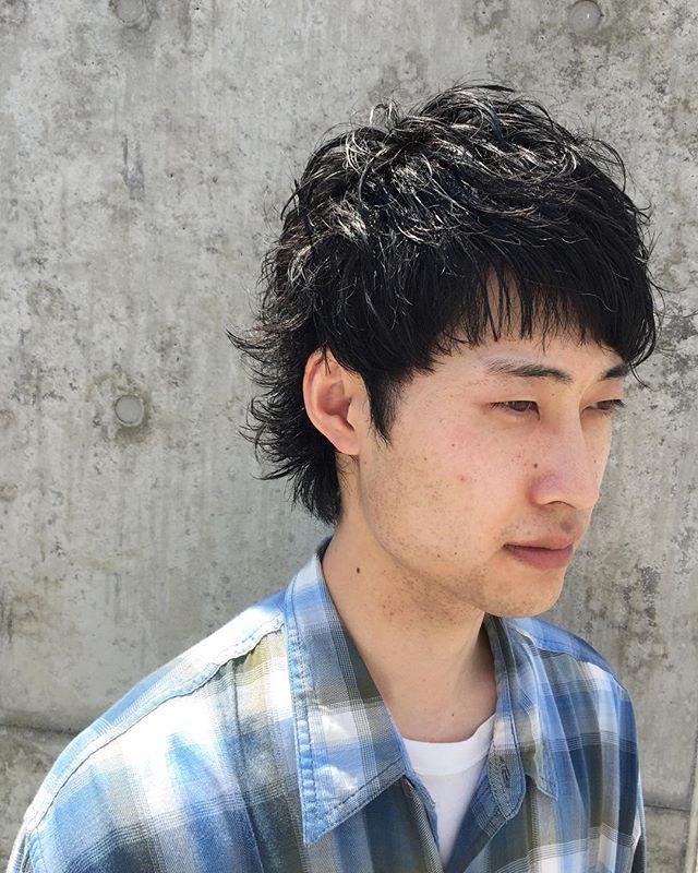 stylist:塚越メンズのマッシュウルフ︎ #abond#高崎#美容室#メンズ#マッシュ#ウルフ