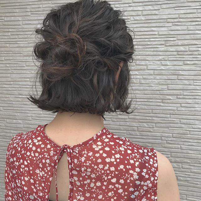 hair ... TOMMY ︎お出かけ前のゆるっとarrange 4000yen + tax ♡#tommy_hair#abond#hearty abond#高崎#高崎美容室#ヘアセット#ヘアアレンジ#hairset#arenge #hairarrange