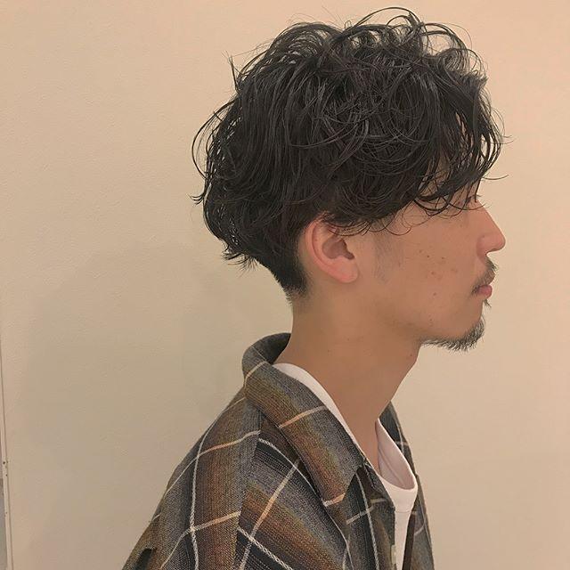 hair ... TOMMY ︎men's parm 💭@abond_tommy #tommy_hair #abond#hearty abond#parm #パーマ#高崎#高崎美容室