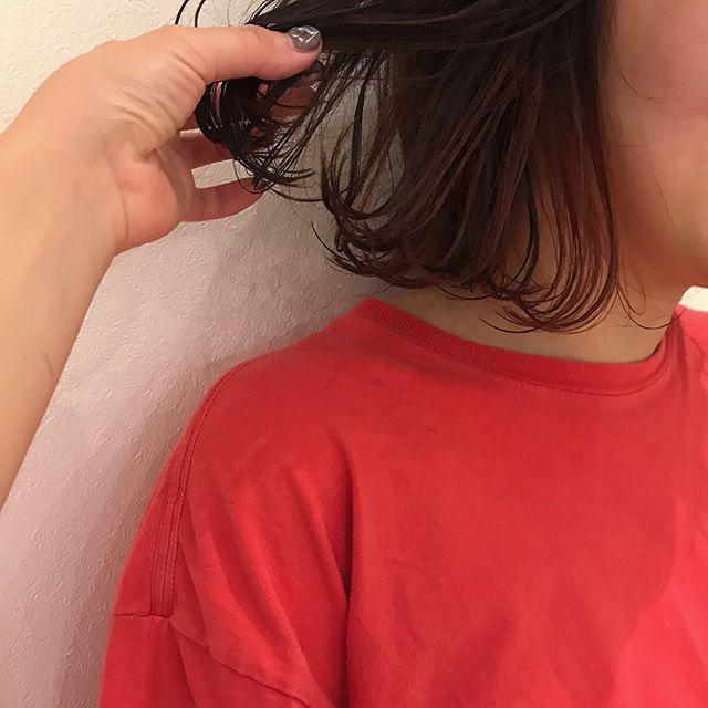 hair ... TOMMY ︎orange hair @abond_tommy #orangeオレンジ