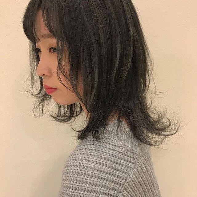 hair ... TOMMY ︎ash gray  @abond_tommy #tommy_hair #abond#hearty abond#アボンド#高崎#高崎美容室