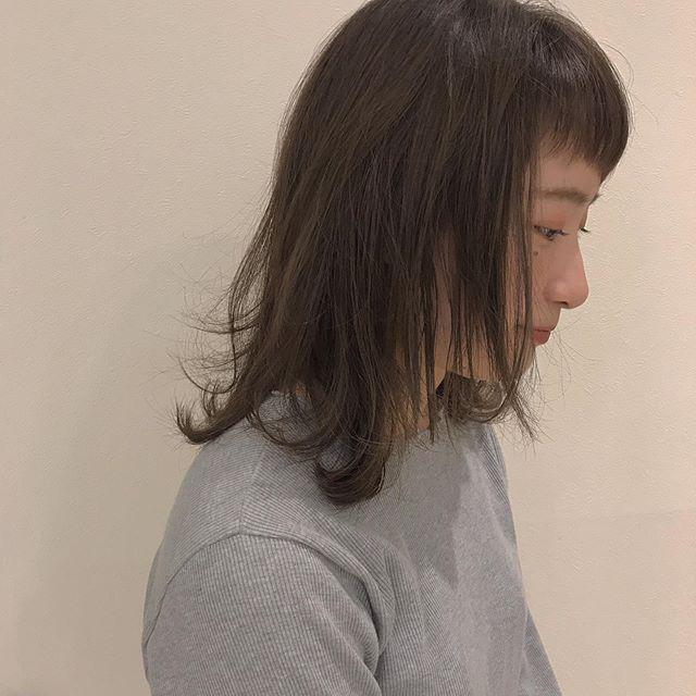 hair ... TOMMY ︎ カーキベージュ@abond_tommy @heartyabond#tommy_hair #heartyabond#abond#アボンド#高崎#高崎美容室#カラー#ヘアカラー#カーキベージュ