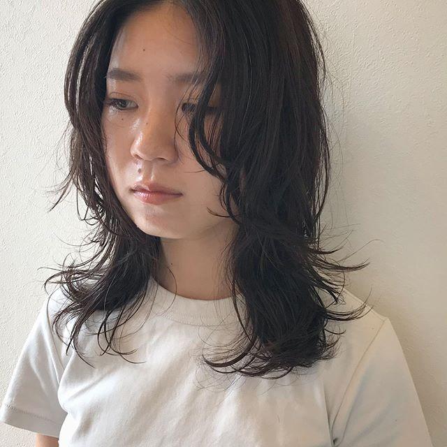 ウルフにパーマはやはり最強の組み合わせ秋に向け髪を着替えましょう@sugita.ryosuke #高崎 #高崎美容室 #abond #ボブ #ウルフ #ショート  #インナーカラー #ヘアセット