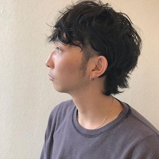 ウルフショート重さを残して今っぽく♀️♂️ユニセックスなスタイルなので男女問わずオススメです担当 @sugita.ryosuke #高崎 #高崎美容室 #abond #ボブ #ウルフ #ショート  #インナーカラー #ヘアセット #パーマ #ボブ #レイヤー