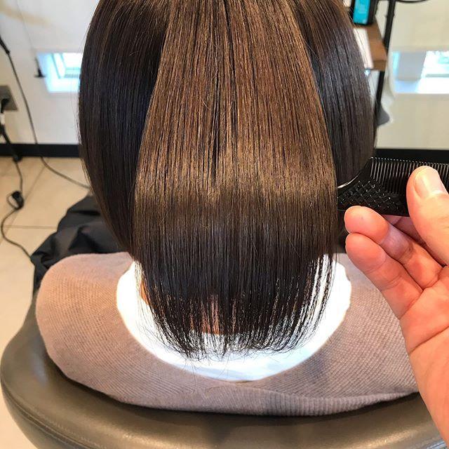 abondスペシャルトリートメント髪の中の不純物を取り除いて、トリートメントを注入子供のようなさらさらで柔らかい髪を作ります#高崎 #高崎美容室 #abond #ボブ #ウルフ #ショート  #インナーカラー #ヘアセット #パーマ #ボブ #レイヤー #トリートメント #艶髪