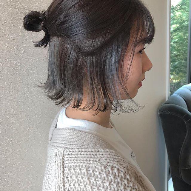 hair ... TOMMY ︎こちらも高校生カラーインナーのみブリーチのダブルカラーケアカラーで学生割引が入って15345yen🕊@abond_tommy @heartyabond#tommy_hair #heartyabond#abond#カラー#ヘアカラー#アボンド#高崎#高崎美容室#ケアブリーチ #ケアカラー