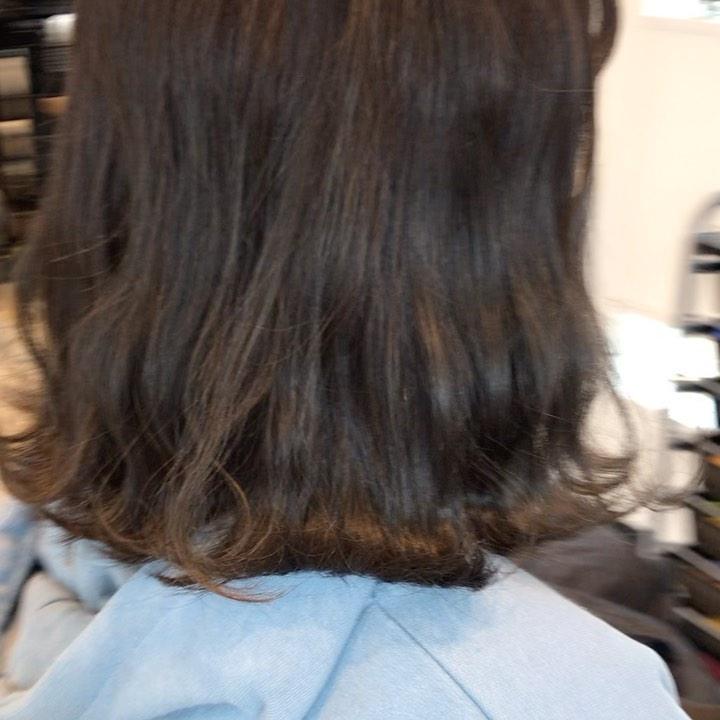 hair ... TOMMY ︎ before after ミリオイル付けるとこんな感じオイルだけど水のような、軽くてベタつかない質感になります!@abond_tommy @heartyabond#tommy_hair #heartyabond#abond#カラー#ヘアカラー#アボンド#高崎#高崎美容室#ミリ#ミリ活#ミリアンバサダー