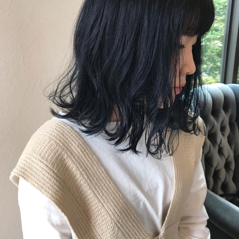 hair ... TOMMY ︎navy Blueクリームバター+ミリオイル🥣量はこれくらい🥣@abond_tommy @heartyabond#tommy_hair #heartyabond#abond#カラー#ヘアカラー#アボンド#高崎#高崎美容室#ミリ#ミリ活#ミリアンバサダー