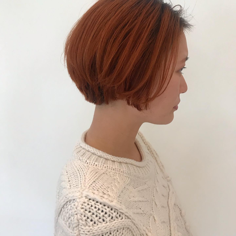 hair ... TOMMY ︎🧡@abond_tommy @heartyabond#tommy_hair #heartyabond#abond#カラー#ヘアカラー#アボンド#高崎#高崎美容室#群馬#群馬美容室