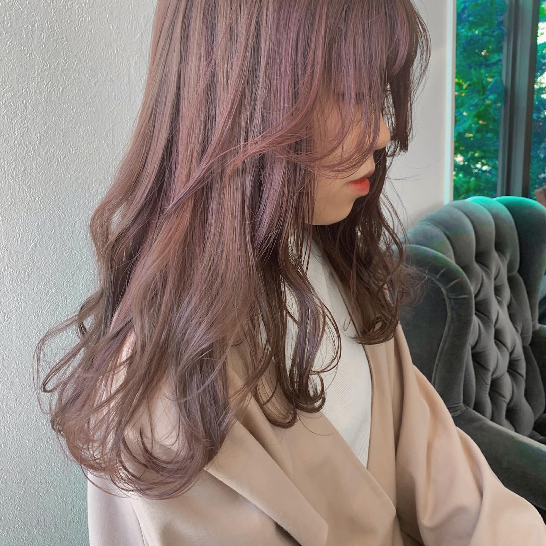 hair ... TOMMY ︎やわらかpink beige@abond_tommy @heartyabond#tommy_hair #heartyabond#abond#カラー#ヘアカラー#アボンド#高崎#高崎美容室#群馬#群馬美容室